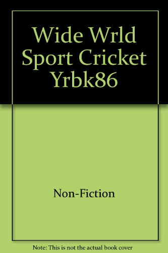 Wide Wrld Sport Cricket Yrbk86 por Non-Fiction