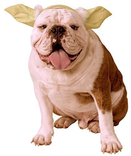Star Kostüm Dog - Rubie 's 888250Star Wars Classic Hund Yoda Ohren mit Kopfbedeckungen