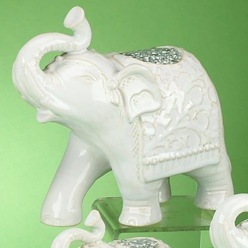 StealStreet ss-ug-vy-0216Walking de picado figura de elefante, color blanco