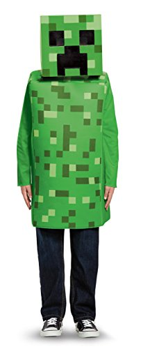 Creeper Classic Dress Up Minecraft Costume,  Gr.S,  4-6 Jahre (Kostüme Minecraft Kinder)