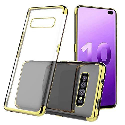 Das beste Zubehör für Samsung S10 Plus !!! Beisoug 6,3 Zoll neuer klarer Schutzumschlag aus TPU-Gel (Generation 5. Ipod-wasser-fall)
