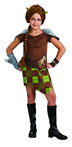 Rubie' s Costume Co Shrek child' S costume, Princess Fiona Warrior costume