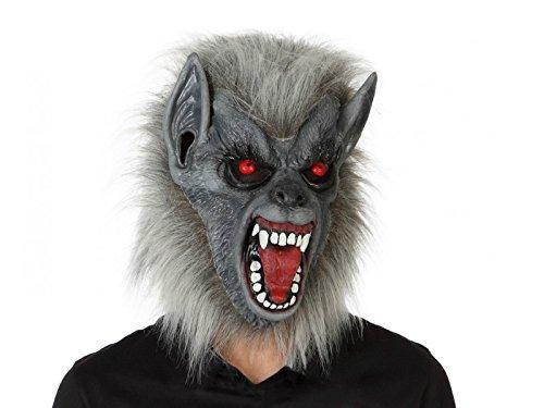Maska Wilkolak Brazowy Halloween