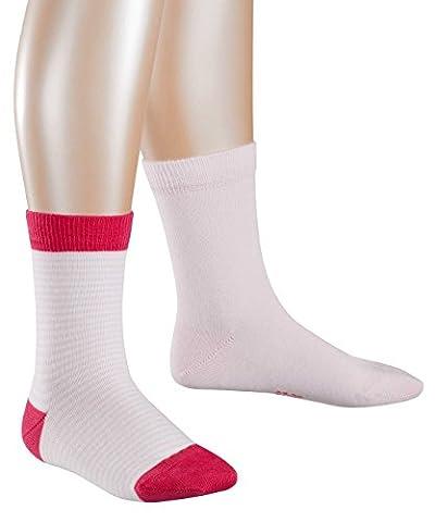 ESPRIT KIDS Mädchen Socken Ringlet Doppelpack 2er Pack, Mehrfarbig (Lady Pink 8996), 27-30