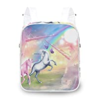 LUPINZ Dreamy Unicorn Durable Backpack Shoulder Bag Backpack