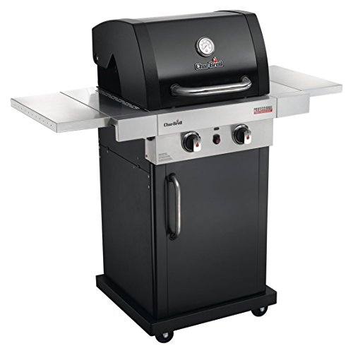 Char-Broil Professional Series 2200 B – 2 Burner Gas Barbecue Grill with TRU-Infrared technology, Black Finish.