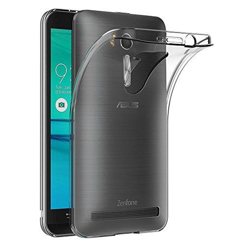 a7d56302629ba3 Coque Asus Zenfone Go ZB552KL, AICEK Transparente Silicone Coque pour  Zenfone Go ZB552KL Housse Silicone
