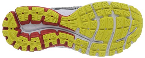 Brooks Ghost 7, flâneurs homme Multicolore - Slv/Blk/Mars Red