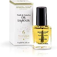 Simon & Tom – Aceite reparador para uñas & cutículas – 9ML- Con 6 Aceites Botánicos