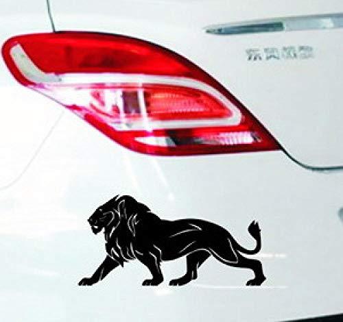 Zyunran Auto-Aufkleber Autoaufkleber - Löwe Autoscooteraufkleber Löwe Autoscooteraufkleber vordere Feile Kratzaufkleber - weiß Benötigen Sie Größe kontaktieren Sie Mich