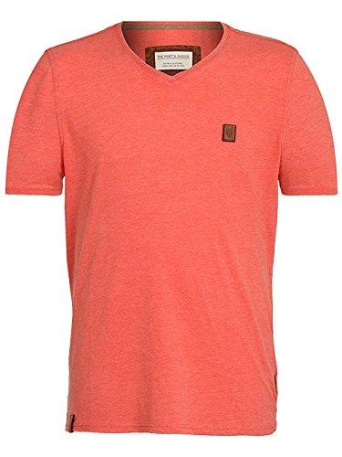 Naketano Male T-Shirt Schimpanski VIII heritage cherry melange