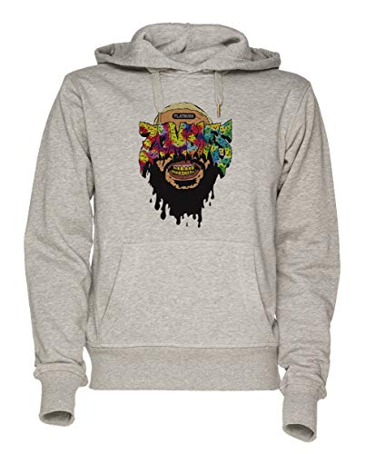 Jergley Flatbush Unisex Grau Sweatshirt Kapuzenpullover Herren Damen Größe XL   Unisex Sweatshirt Hoodie for Men and Women Size ()