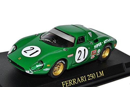Ixo Ferrari 250 LM Nr 21 Grün 1/43 Modell Auto