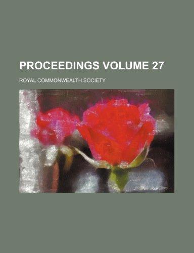 Proceedings Volume 27