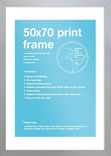 GB Eye LTD, Plata, 50x70cm - Eton, Marco