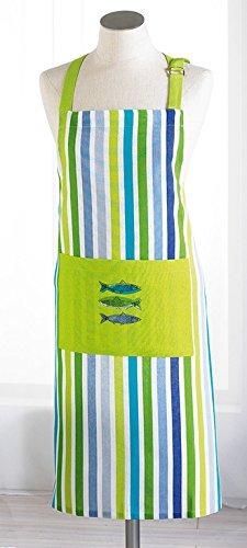 Le Jardin des Cigales Tablier Polyester Vert 70 x 85 x 85 cm