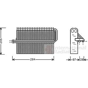 van wezel 3700v344 verdampfer klimaanlage auto. Black Bedroom Furniture Sets. Home Design Ideas