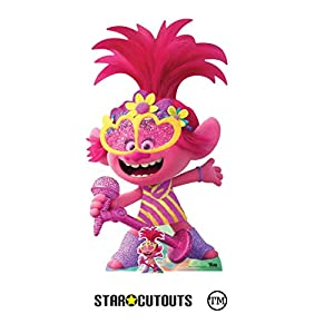 Star Cutouts Ltd- Star Cutouts SC1526-Figura de Amapola (cartón, tamaño Grande, 157 cm), Multicolor (SC1526)