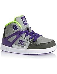 DC REBOUND–Zapatillas deportivas infantil TLP Battleship/Purple