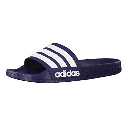 adidas Herren Cf Adilette Flip-Flops Blau (Maruni/ftwbla/maruni)