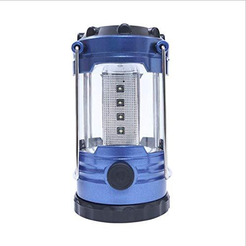 Camping lanternes ultra Bright 12 LED lanterne tente lumière portable d'urgence cheval lumière avec boussole, résistant à l'eau, alimenté par batterie, pour la randonnée, camping (sans batterie)