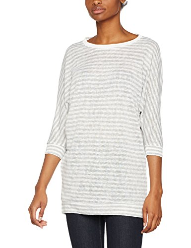 Only, Pull Femme Multicolore (Cloud Dancer Stripes:w. Lgm)