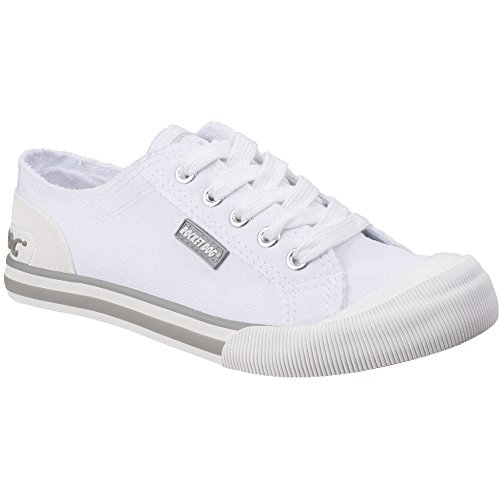 Rocket Dog Womens/Ladies Jazzin Canvas Lace Up Casual Summer Trainers -
