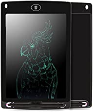 Chocozone Portable Re-Writable LCD E-Pad for Drawing/Playing/Handwriting, 8.5-inch (Black)