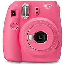 Fujifilm Instax Mini 9 Fotocamera per Stampe Formato 62 x 46 mm (Rosa) (Ricondizionato)