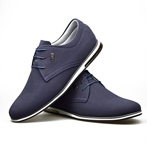 ClassyDude , Baskets pour homme Bleu - Bleu marine