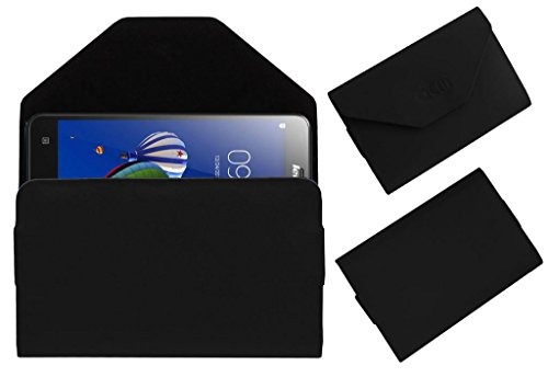 Acm Premium Pouch Case For Lenovo S580 Flip Flap Cover Holder Black  available at amazon for Rs.179