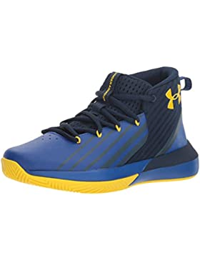 Under Armour UA BGS Lockdown 3, Zapatos de Baloncesto para Niños