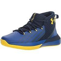 Under Armour UA BGS Lockdown 3, Zapatos de Baloncesto para Niños