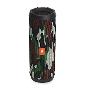 JBL Flip 4 Waterproof Portable Bluetooth Speaker Squad -Camouflage