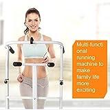 Laufbänder Faltende Maschine Tilt Fitness Multi-Funktions-Gewichtsverlust Aerobic Walking (Color : Black, Size : 115x52x110cm) - 3