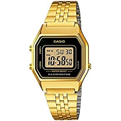 Casio Reloj Digital de Cuarzo LA-680WG-1
