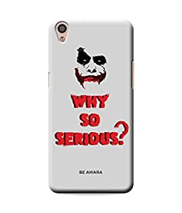 Be Awara Joker Designer Mobile Phone Case Back Cover For Oppo F1 Plus