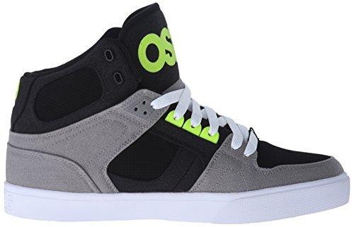 Osiris Nyc83 Vlc, Chaussures de skate homme Gris/citron vert