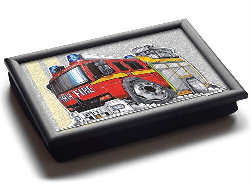 Koolart Cartoon London Feuerwehrauto Luxus Sitzsack Schoß Tablett Ablage