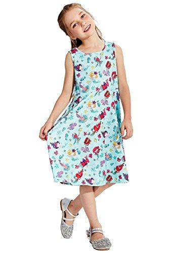 idung 7-9t mädchen kleid kleine prinzessin a - line umfasst kleid (Mädchen 7 14 Kleider)