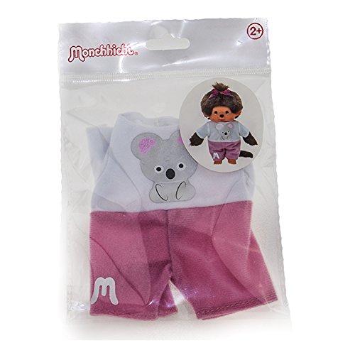 Monchhichi Kleidung für Standard Monchichi 20 cm - Verschiedene Designs (Koala Shirt) (Kleidung Monchichi)