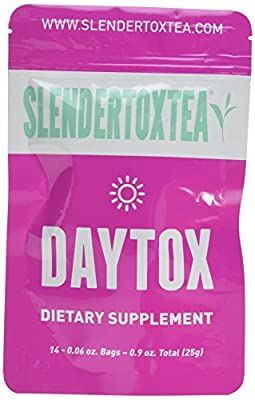 Slendertoxtea - 14 Day Detox (Weight loss tea, Diet tea, Slimming tea & Burn fat tea) Diet supplement, Detox & Green tea. by Slendertoxtea