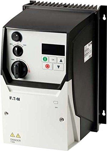 Eaton 169360 Frequenzumrichter, 3-/3-phasig 230 V, 18 A, 4 kW, Vektorsteuerung, EMV-Filter, Bremstransistor 4 Kw 18