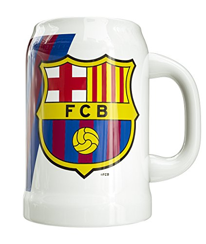 FCB Jarra de Cerveza Ceramica FC Barcelona 50CL