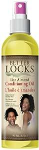 Better Locks Light Almond Oil 180 ml (Pack of 2)