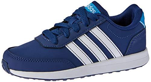 adidas Vs Switch 2 K, Scarpe da Running Unisex Bambini, Blu Dark Blue/Ftwr White/Shock Cyan, 36 EU