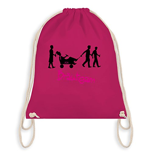 Jga Bachelorette Party - Jga Groom - Borsa Da Ginnastica I Gym Bag Fucsia