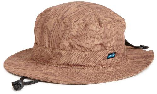 Kavu Kunststoffriemen Bucket Hat, Herren, Holzmaserung