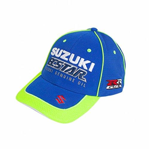 Suzuki MotoGP equipo ecstar bordado sombrero azul 990F0-m7cap-000
