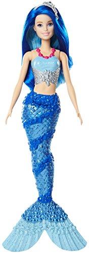 Barbie FJC92 Dreamtopia Juwelen-Meerjungfrau (5 Regenbogen-akzenten)